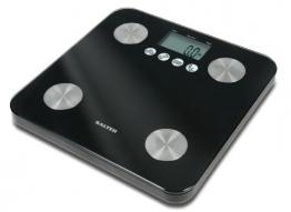 Salter 9106 BK3R Glas-Körperanalysewaage, schwarz - 1